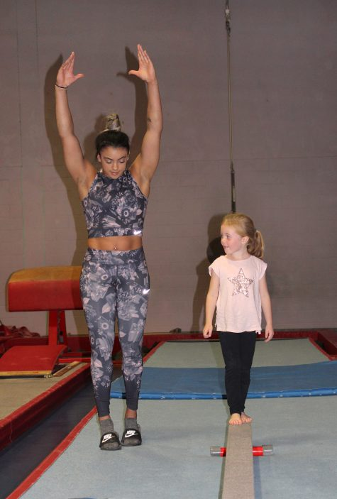 Becky and Ellie Downie experience day